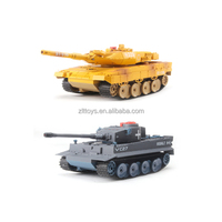 1:24 24G RC large battle tank rc toy