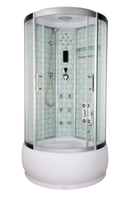 AJL3815 New Design ABS 5Mm Glass Thickness Shower Enclosure