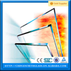 30-120 minutes fire rated tempered glass, clear fire proof glass