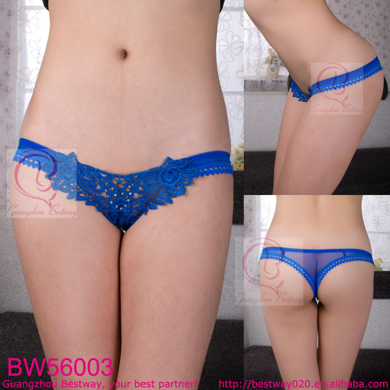 Valentine's gift sex g string v string y back with rhinestone charm eye-catching