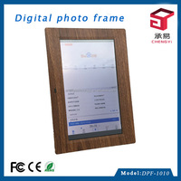 cheapest 10 inch wifi video digital photo frame with sd usb