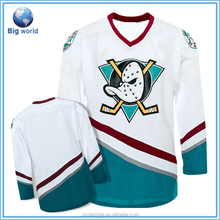 Only Available To the US Men's t-shirt,Fashion T-shirt,Dry Fit T shirt&Plain white 100% polyester interlock ice hockey jersey