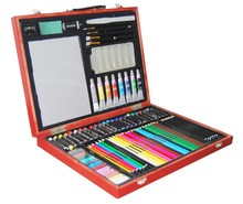67-piece Deluxe oil painting Art Creativity Set in Wooden Case portable gift art set