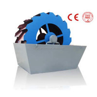 Sand washing machine for mine from Hengxing/Wheel type sand washer