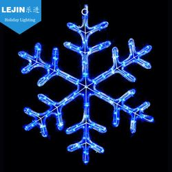 Lejin led snowflake motif lights rope light train with long life