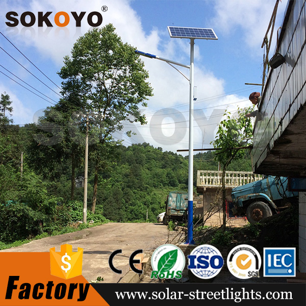 Chinese manufacturer outdoor LED lighting 60w solar panel street light