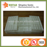 plastic collapsible tool crate quality boxes for vegetable plastic egg crate