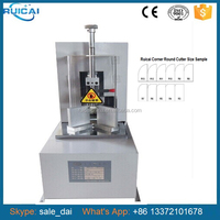 Round Corner Paper Cutting Machine with CE and R3 to R9 Cutter