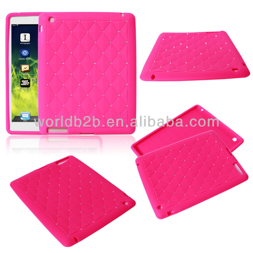 Sky Star Bling Silicone Cover Case For iPad Mini / iPad mini with Retina display