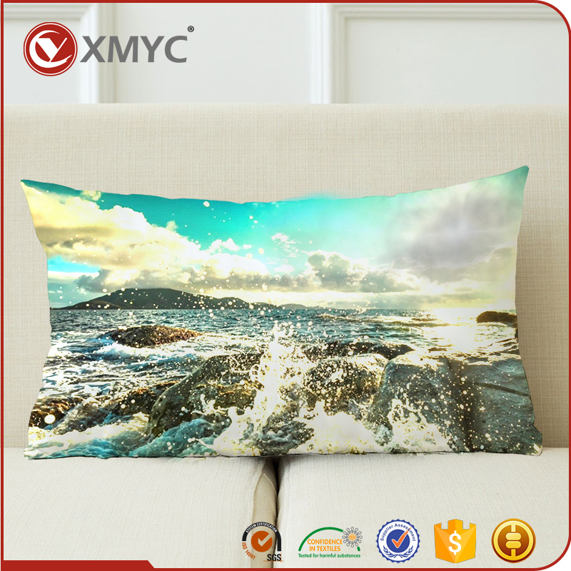 Custom Photography Art Nature Theme Pillow Cover Digital Printing Pillow Case for Home Decorative