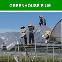 high quality 100% new material farm green house,plastic film for greenhouse