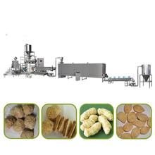 textured soybean protein soy nuggets machine extruder