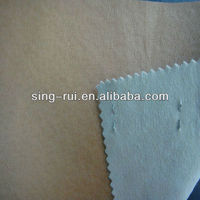 PU Pig Skin Lining With Dipping Backing
