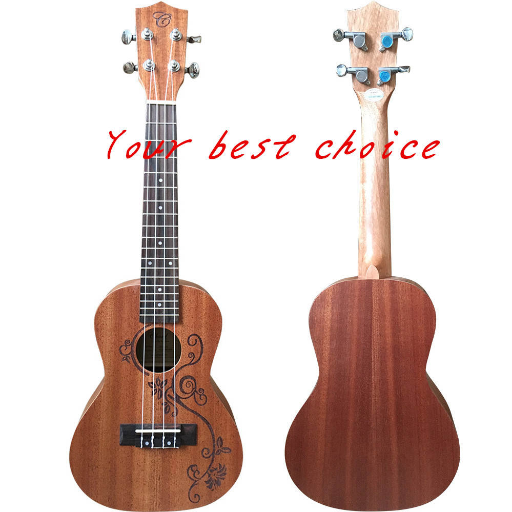 China ukulele Wholesale 24 inch handmade guitar ukulele
