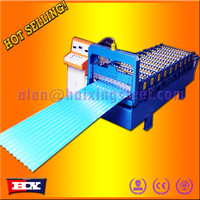 High speed metal deck roll forming machine