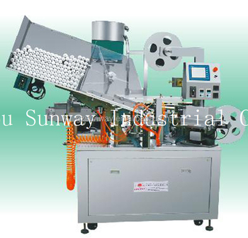 Tube Holing and Sealing and Capping Machine