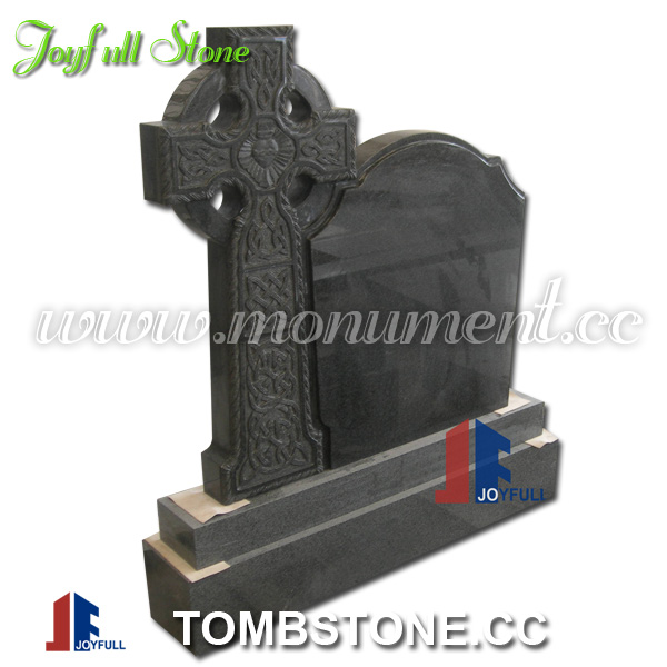 Granite celtic cross headstones