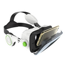 VR Headset Box 3D Virtual Reality Game Glasses Headset 9-Axis Sensor with Remote controller