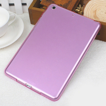 Mobile Phone Accessories, Transparent Silicone Case For iPad