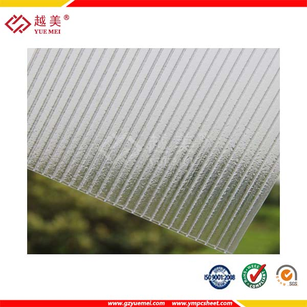 plastic honeycomb crystal colored polycarbonate sheet polycarbonate double glazed dome