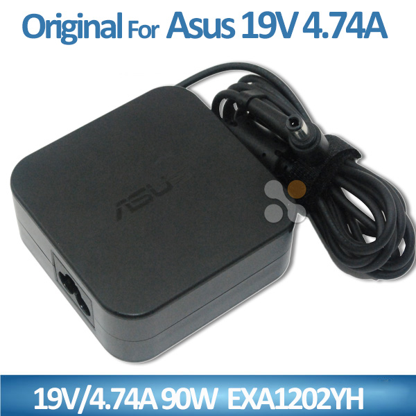 Original Genuine OEM ac 100-240v laptop adapter for asus 19v 4.74a 90w EXA1202YH 5.5*2.5mm