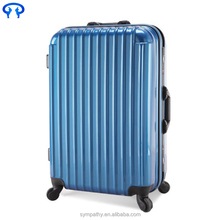 Custom made Luggage Suitcase Box, 4 wheel suitcase travel suitcase american ABS trolley luggage