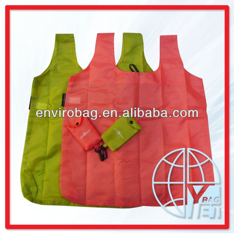 nylon foldable shopping bag