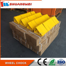 Alibaba Trade Assurance product truck wheel chock for tyre stopping