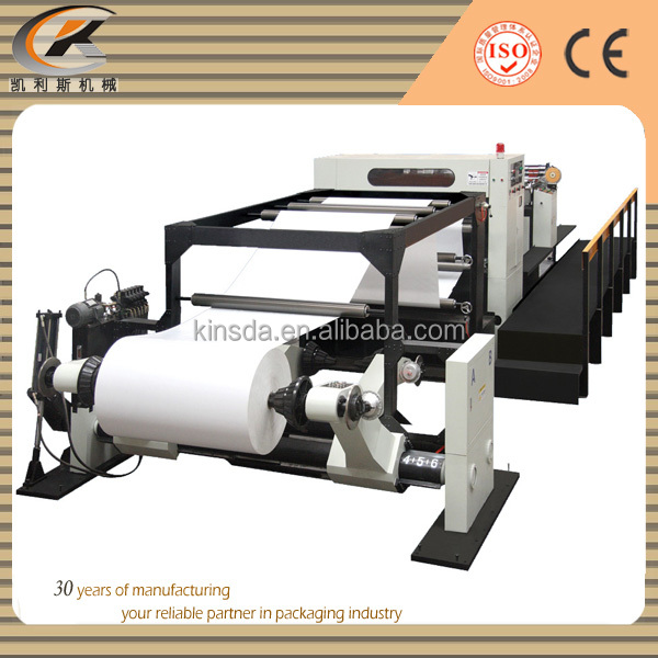high speed automatic paper roll sheeter