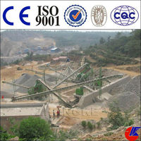Complete Quarry Rock Mining Plant, Stone gravel crusher plant for sale