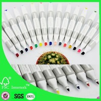 2015 News calligraphy marker pens China suppier 170 color
