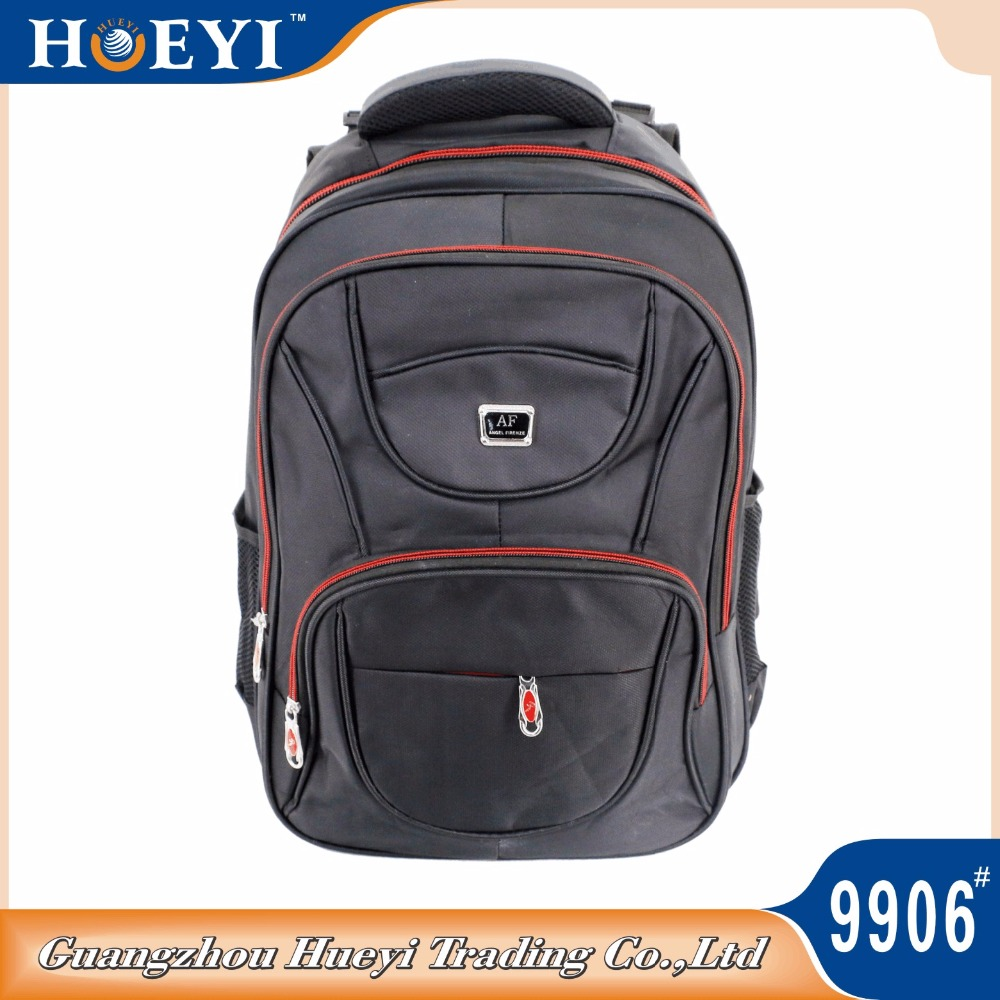 Promotional Laptop Bags Low Price and Good Quality Computer Bags 3 compartment laptop bag backpack