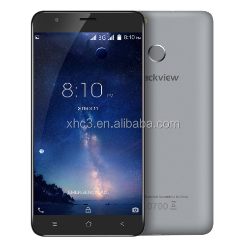 Dropshipping Blackview E7S 16GB 3G mobile phone 5.5 inch Android 6.0 MTK6580 Quad Core Fingerprint Identification cell phone