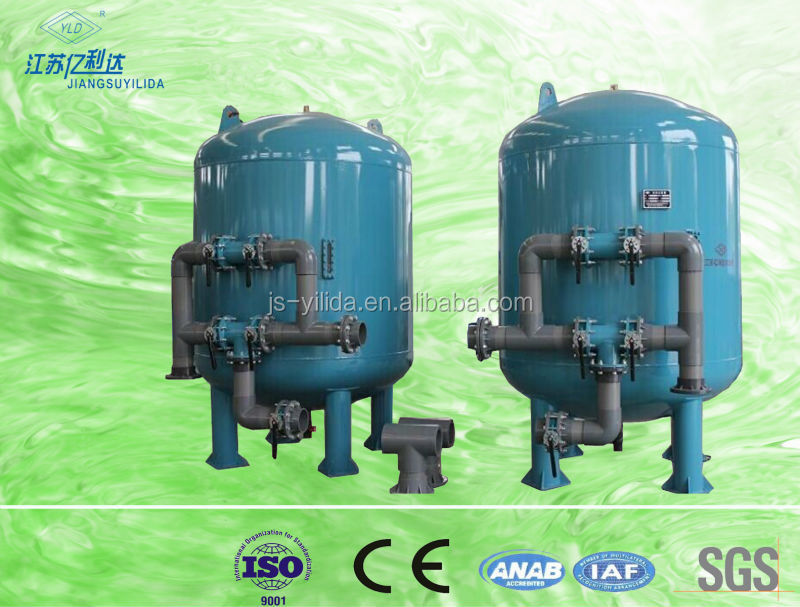 Water Purifying System Active Carbon Media Filter For Agricultural Irrigation