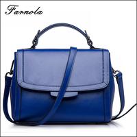 2016 western style lady authentic designer custom fashion genuine leather handbag shoulder bag for woman