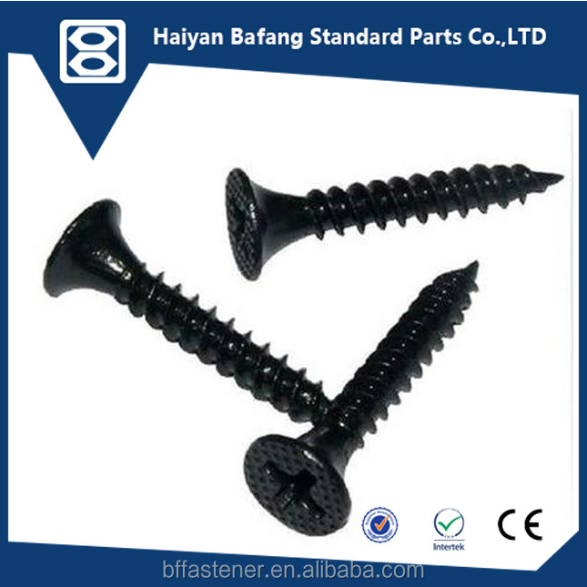High quality and good price black C1022 bugle head drywall screw