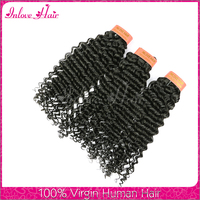 Fashion Design Top 6A Grade Virgin Indian Hair Deep wave Virgin human hair shed and tangle free