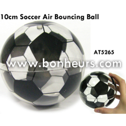New Novelty Toy 10CM Soccer Air Bouncing Ball