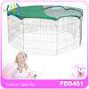 Dog Crate Kennel Exercise Pen Fence Pet Cage Puppy Tall Folding Metal Playpen