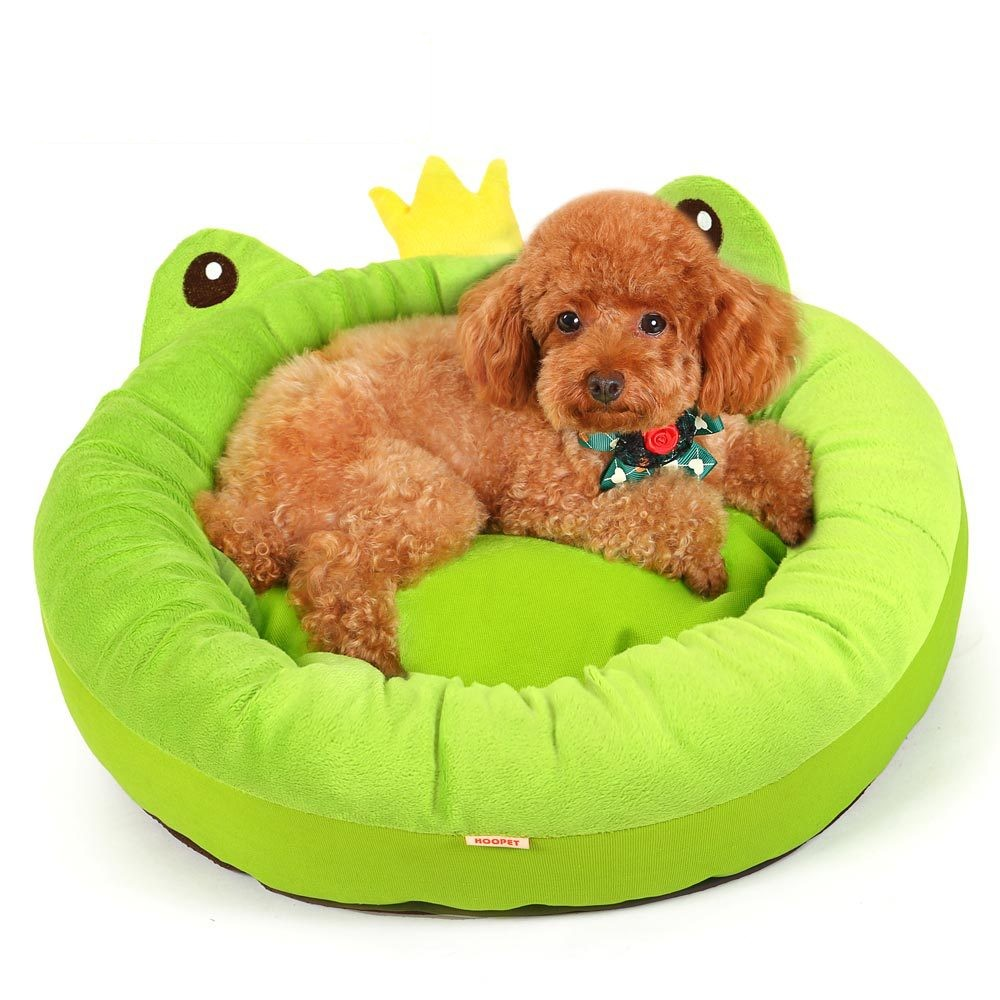 R0971H Factory supply memory foamdog bed plush animal shaped pet bed