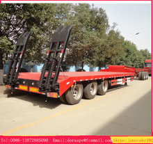China cheap price 60 tons blade transport extendable trailer