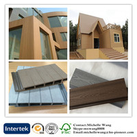 Weather resistant wood plastic composite Panel wpc wall, Wall Cladding, exterior wood wall cladding