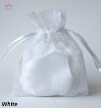 Wholesale Gift Indian Organza Bag White