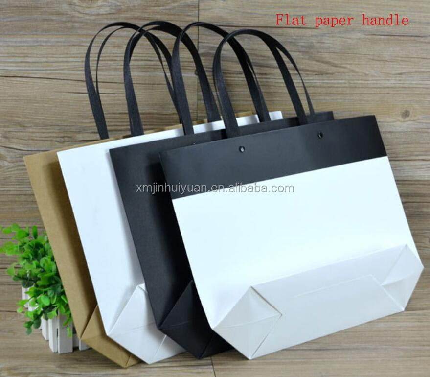 New boat type garment packing paper bag,handbag shape paper gift bag