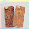 2015 New Arrival Stylish Waterproof Vintage TPU with Cork Case Cover for iPhone 5s