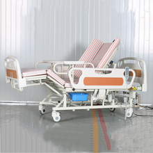 cheap electric the elderly hospital bed with commode for sale