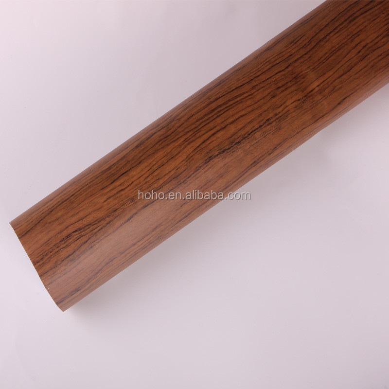 pvc door skin film wood grainy sticker /film