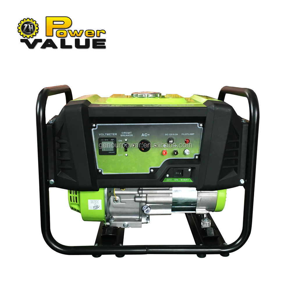 2kw lightweight household easy use reliable portable gasoline power generator for sale
