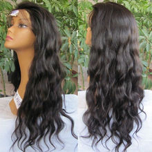 hotsale virgin indian hair real human hair full lace wig