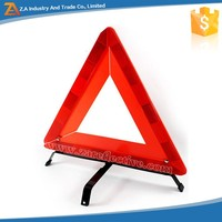 Long Distance Visibility Red Safety Reflective Warning Triangle for Emergency